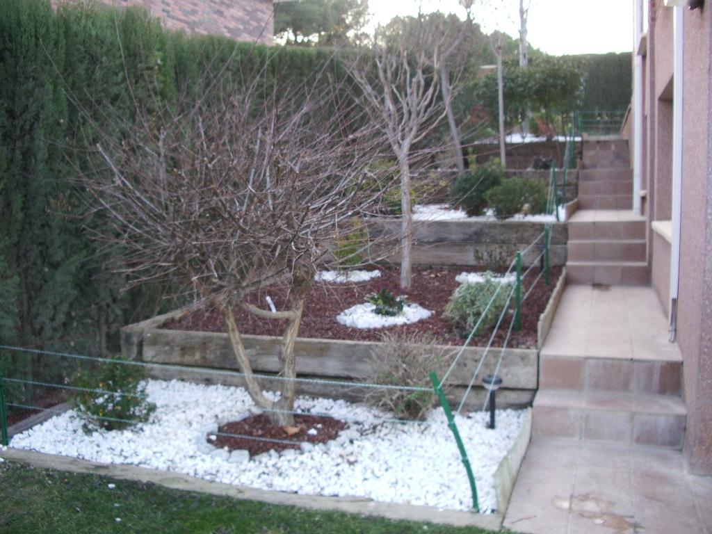 jardin en zaragoza en invierno