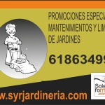 PROMOCION EN MANTENIMIENTOS Y LIMPIEZAS DE JARDINES