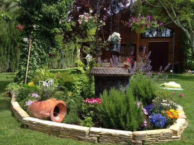 Diseño y mantenimiento de jardín en Zaragoza